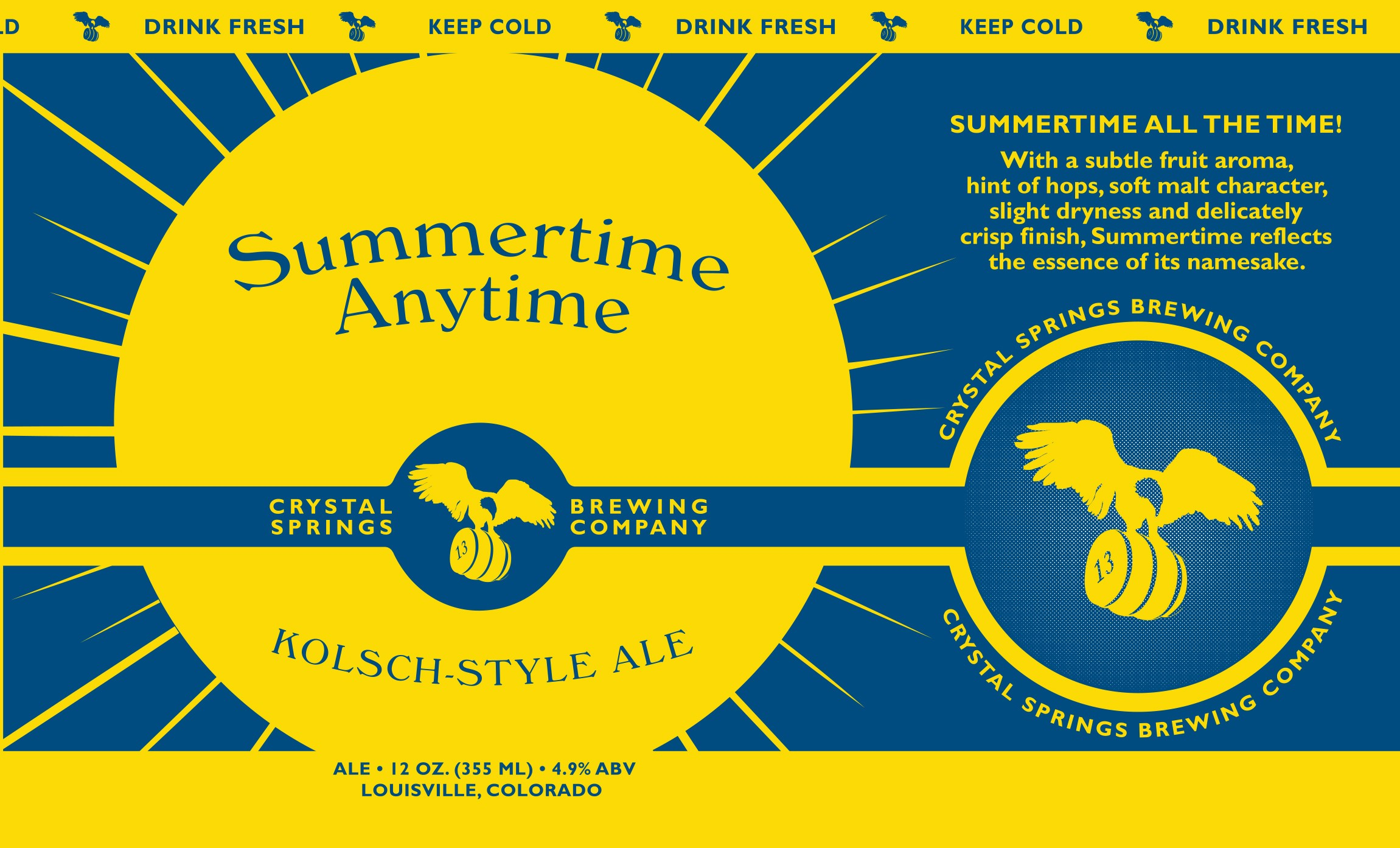 Summertime Anytime Ale