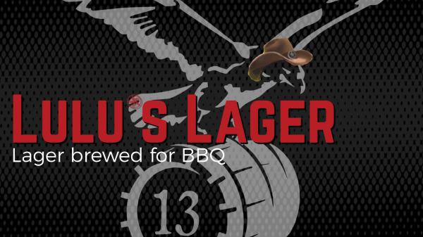 Lulu's Lager banner