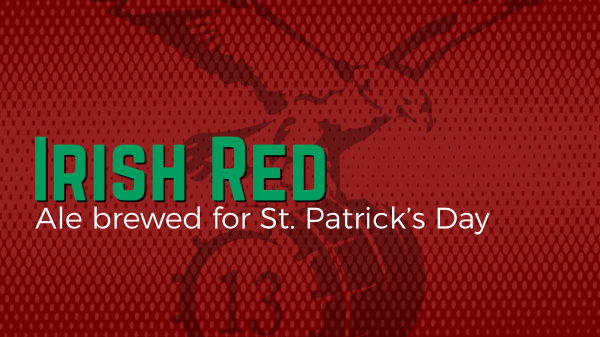 Irish Red banner