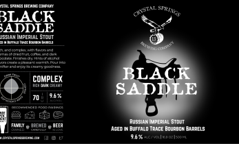 Black Saddle (Bomber)