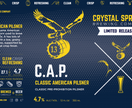 Classic American Pilsner (Crowler)