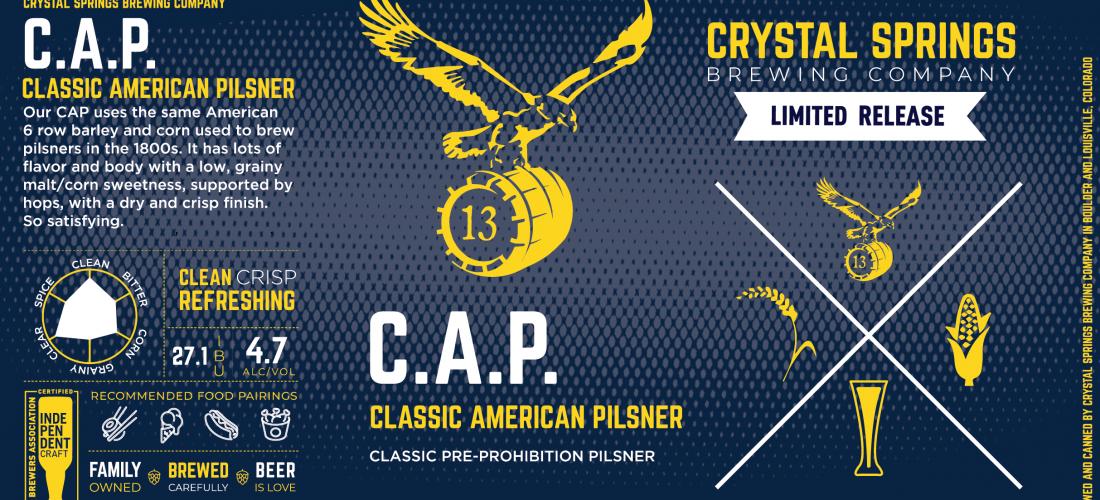 C.A.P. (Classic American Pilsner)
