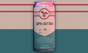 Blackberry Super Seltzer (Crowler)