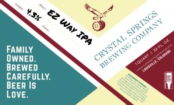 EZ Way IPA (Crowler)