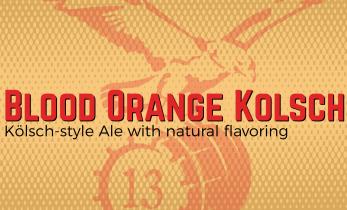 Blood Orange Kölsch (Crowler)
