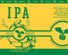 Crystal Springs IPA (6 Pack)