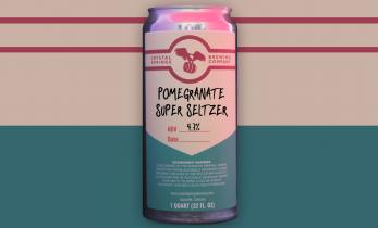 Pomegranate Super Seltzer (Crowler)