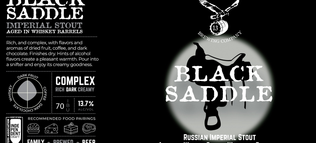 Black Saddle Barrel-Aged Russian Imperial Stout