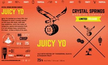Juicy Yo! IPA (Crowler)