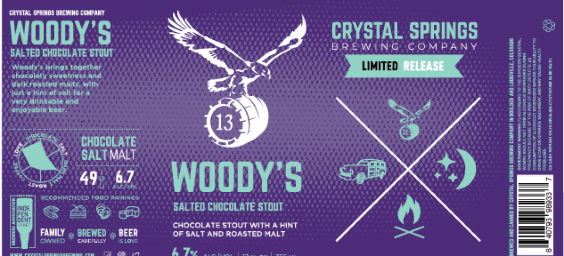 Woody's Salted Chocolate Stout